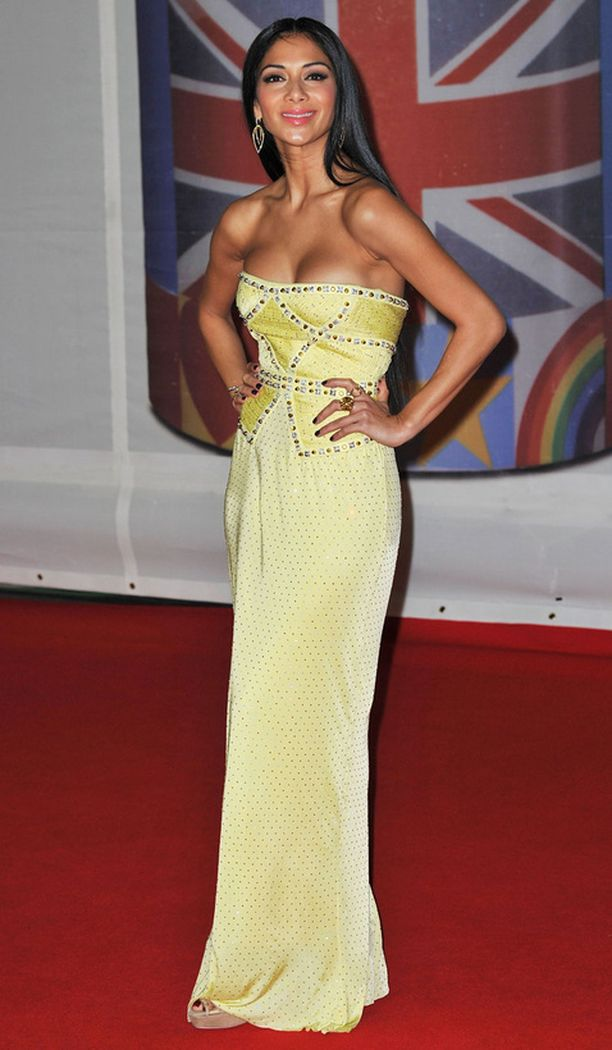 Nicole Scherzinger.