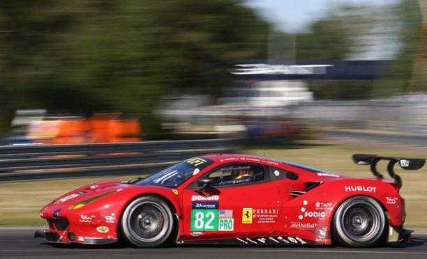 Toni Vilanderin uran kolmas Le Mansin voitto jäi haaveeksi.