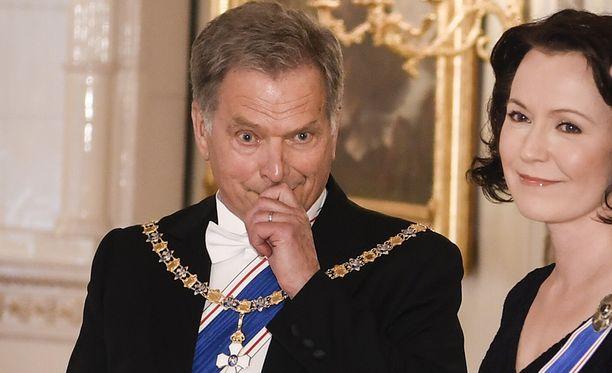 Tasavallan presidentti Sauli Niinistö ja rouva Jenni Haukio saavat vieraakseen elokuun lopussa Ranskan ykkösparin.