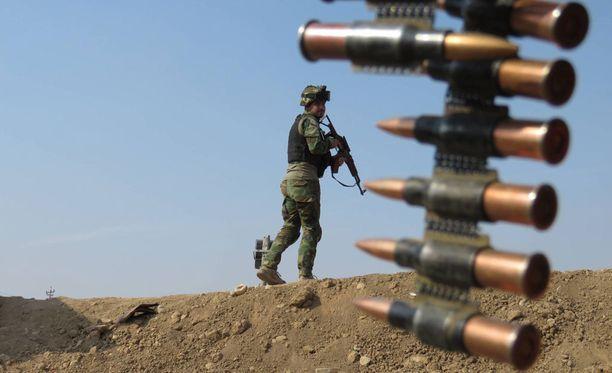 Irakin armeija yrittää Mosulin takaisinvaltausta voimalla.