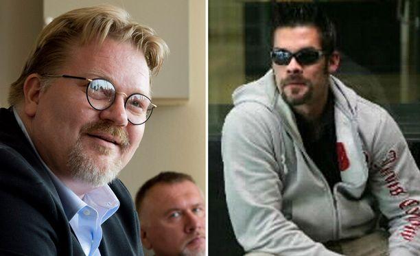 Vasemmalla Johan Bäckman ja oikealla Ilja Janitskin.