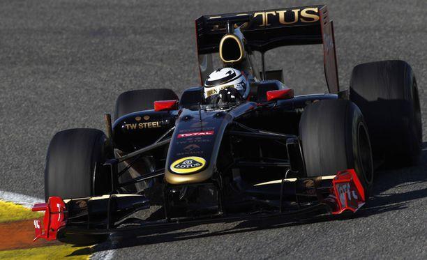 Kimi Räikkönen ei aseta tavoitteita - vielä.