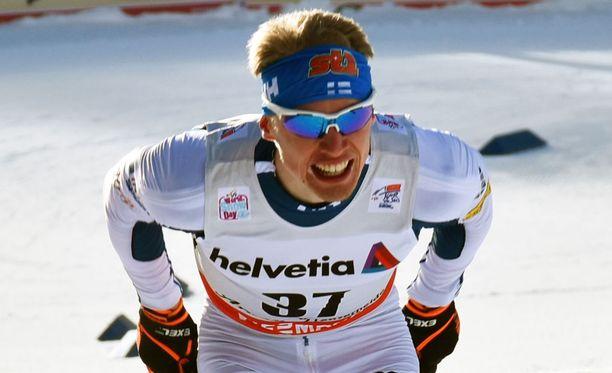 Iivo Niskanen oli takaa-ajokisan paras suomalainen.