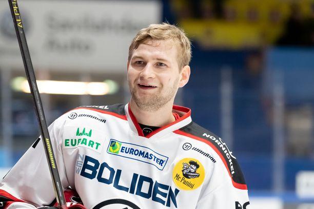 Markus Niemeläinen on suuntaamassa Pohjois-Amerikkaan.