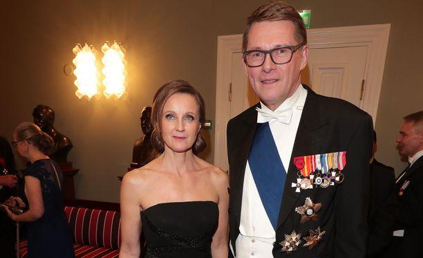 Heidi Huhtamaa ja Matti Vanhanen ovat seurustelleet muutaman vuoden ajan.