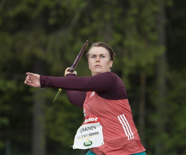 Sanni Utriainen on uransa aikana voittanut SM-kisoissa kultaa, hopeaa ja kolme pronssia. Arvokisoissa paras sijoitus on vuoden 2012 EM-Helsingistä tullut yhdestoista tila.