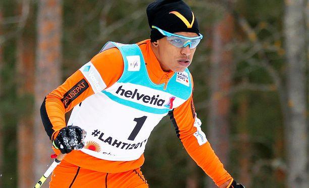 Adrian Solano on tällä hetkellä Lahden MM-kisojen puhutuin urheilija.