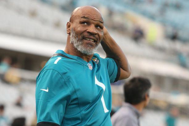 Mike Tyson viime syyskussa.