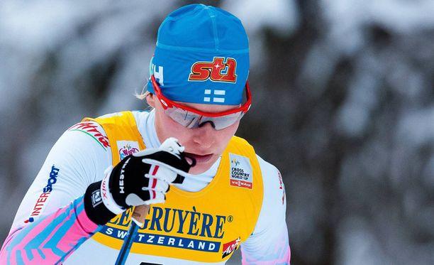 Anne Kyllöstä ei nähdä Lahden MM-sprintissä.