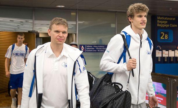 Konkari Teemu Rannikko ja tulokas Lauri Markkanen pelasivat hienon turnauksen.