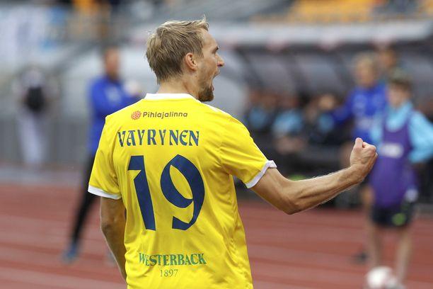 Tim Väyrynen palasi Suomeen vaan ei jäädäkseen.