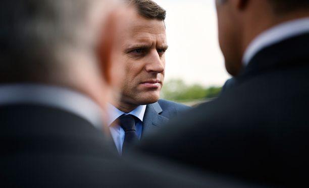 Emmanuel Macron varmistui Ranskan presidentinvaalien ensimmäisen kierroksen voittajaksi.