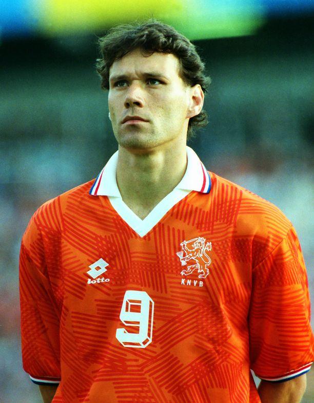 Marco van Basten on Hollannin jalkapallon suurnimiä.