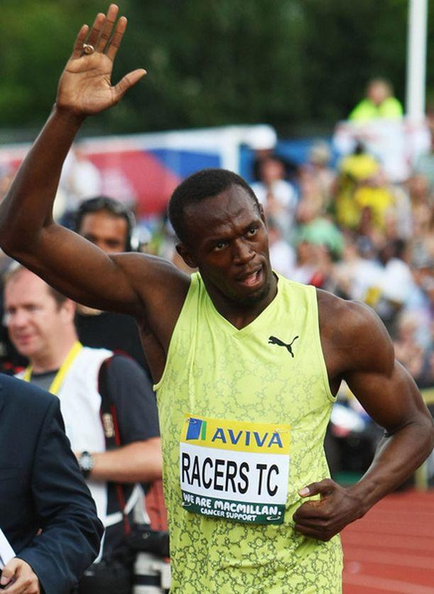 Usain Boltin lihassolujen arvellaan sopivan erittäin hyvin pikajuoksuun.