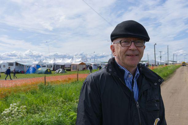 Timo Aho on johtanut suviseurojen järjestelyjä.