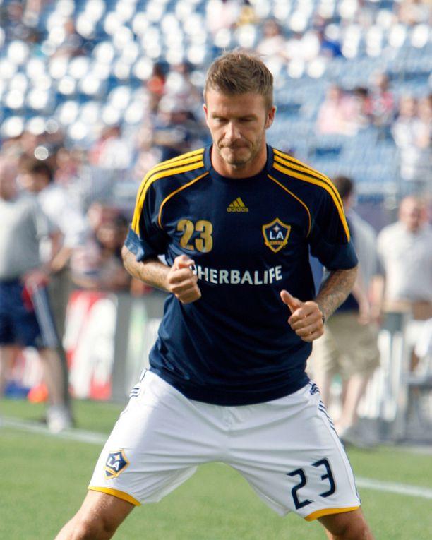 Los Angeles Galaxyyn Beckham siirtyi vuonna 2007.