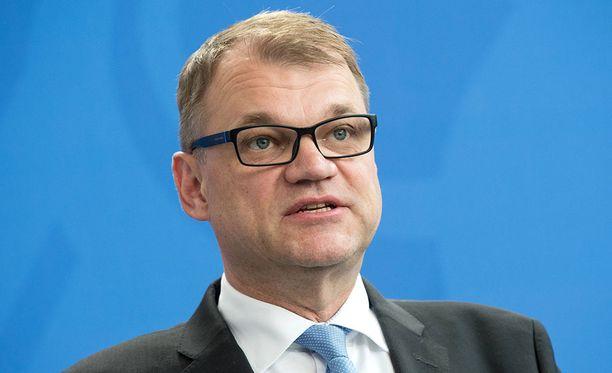 Pääministeri Juha Sipilä kommentoi Oulun seksuaalirikossarjaa.