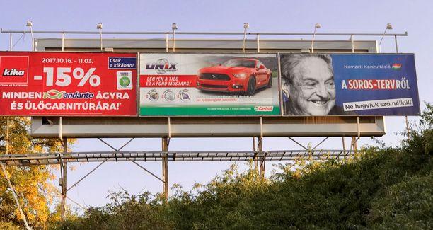 Unkarin hallitus teki valtavalla veronmaksajien kustantamalla mainoskampanjalla unkarilaissyntyisestä George Sorosista kansakunnan vihollisen markkinoidessaan pääministeri Orbánin epäliberaalia demokratiaa.
