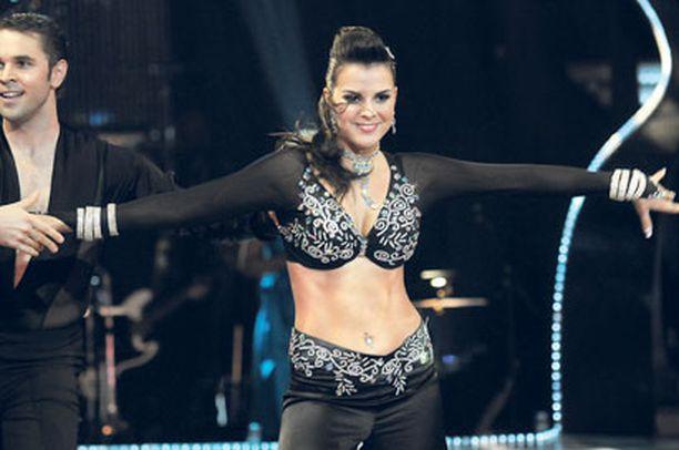 Satu Tuomisto hurmasi Tanssii tähtien kanssa -ohjelmassa.