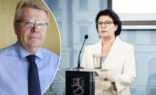 EK:n toimitusjohtaja Jyri Häkämies ampuu kirjassaan täyslaidallisen sosiaali- ja terveysministeriön strategiajohtajan Liisa-Maria Voipio-Pulkin suuntaan.