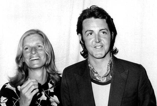 Linda ja Paul McCartney.