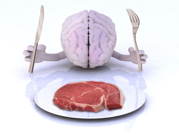Runsas lihansyönti ei tutkimuksen mukaan näytä olevan hyväksi muistille ja muille kognitiivisille toiminnoille.