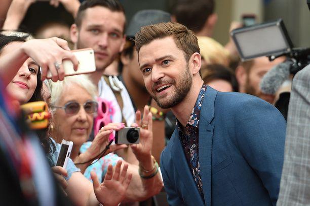 Justin Timberlake Australiassa vuonna 2016.