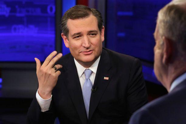 Äärikonservatiivinen Ted Cruz jää satojen valitsijamiesten päähän tavoitteesta.