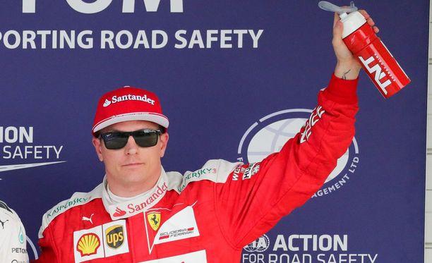 Kimi Räikkönen pitää Yhdysvaltain GP:stä.