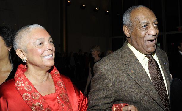 Camille ja Bill ovat olleet naimisissa 52 vuotta. Kuvassa pariskunta syksyllä 2009.