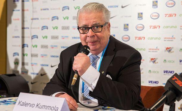 Kalervo Kummola antoi tilannepäivityksen NHL-pelaajien olympianeuvotteluista.