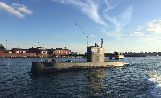 Tällä sukellusveneellä Kim Wall kuoli viime vuoden elokuussa.