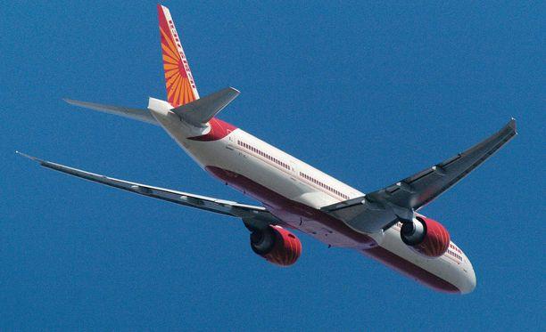 Air India vaihtoi San Franciscon lennon suuntaa. Matkan pituus kasvoi, mutta myötätuulen ansiosta aika lyheni.