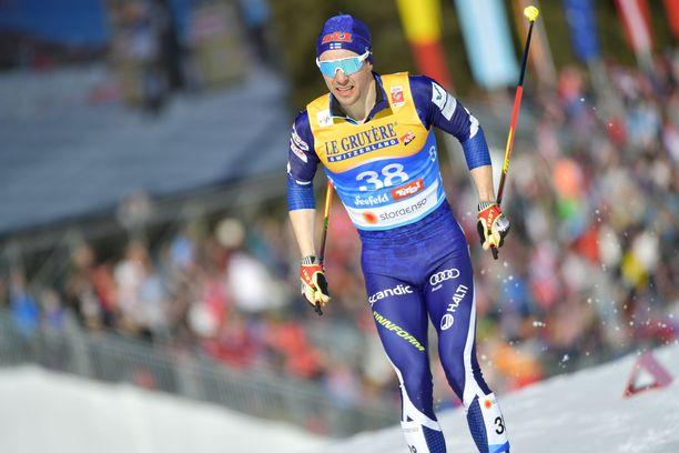 Ristomatti Hakola oli 29:s ja kuuli kisan jälkeen dopingratsiasta.