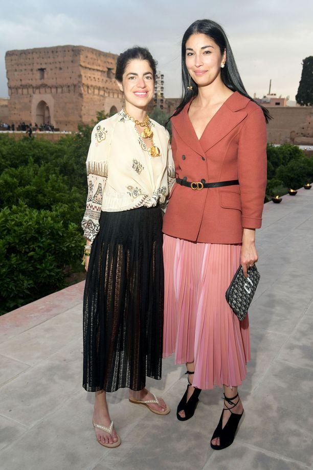 Leandra Medine ja Caroline Issa