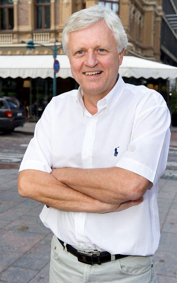 Peter Fryckman pyrkii kansanedustajaksi.