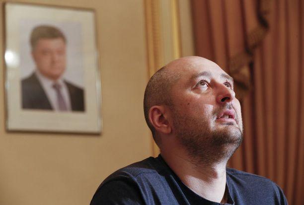 Arkadi Babchenko oli mukana Ukrainan juonessa kuolemansa lavastamisessa.