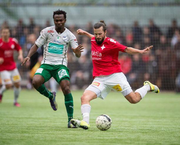HIFK:n Jukka Halme on pelaaja, jonka näkemisestä kannattaa maksaa.