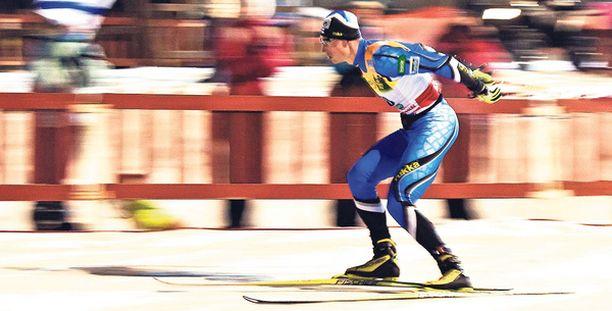 KOHTI OLYMPIAMITALIA Hannu Mannisen mahdollisuus voittaa henkilökohtainen olympiamitali parani yhdellä kisalla.