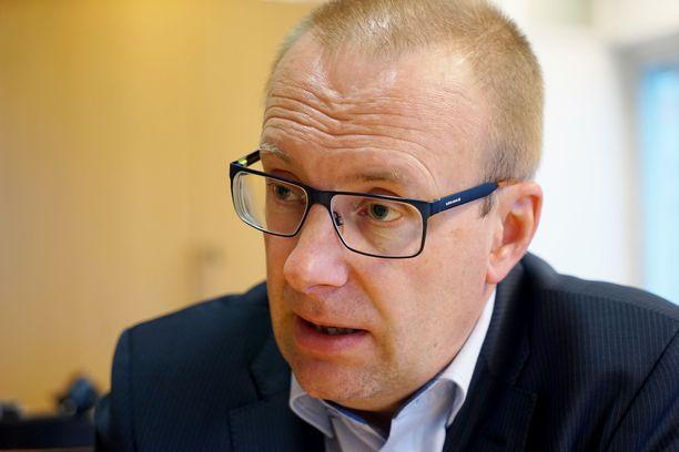 SAK:n puheenjohtaja Jarkko Eloranta.