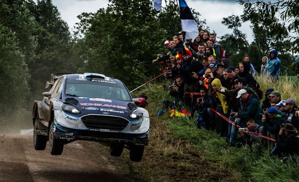 Teemu Suninen ajoi hienosti kuudenneksi uransa ensimmäisessä WRC:n MM-rallissa.