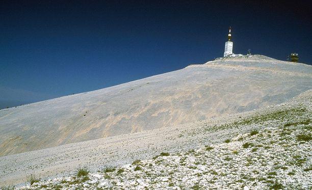 Tänä vuonna Ranskan ympäriajon osallistujat eivät koe Mont Ventoux'ta koko komeudessaan.
