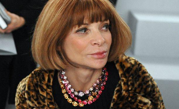 Voguen pelätty ja ihailtu päätoimittaja Anna Wintour.