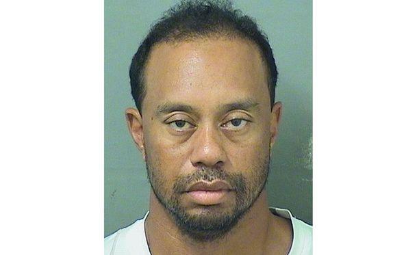 Tiger Woodsin hyvinvointi oli vaakalaudalla toukokuussa. Poliisi julkaisi miehen pidätyskuvan.