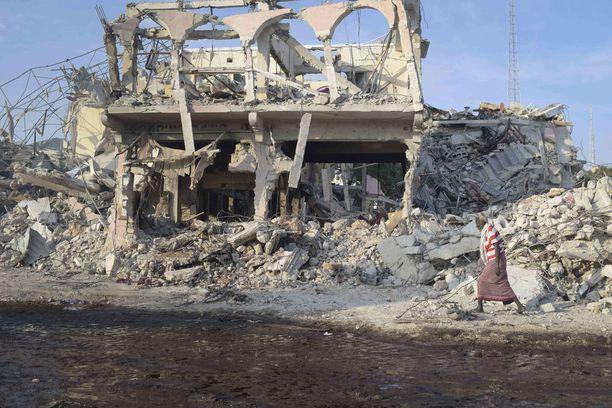 Ainakin 276 ihmistä kuoli verisessä iskussa Mogadishussa.