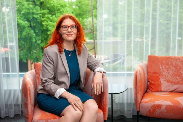 PAMin uusi puheenjohtaja Annika Rönni-Sällinen haluaa toimia oikeudenmukaisuuden puolesta.