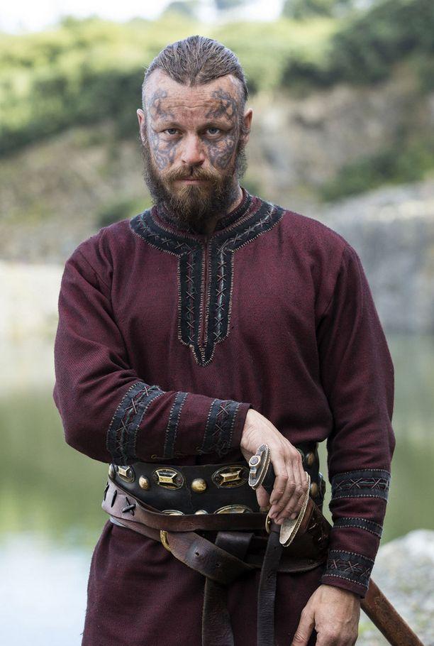Peter Franzén näyttelee Harald Kaunotukkaa.