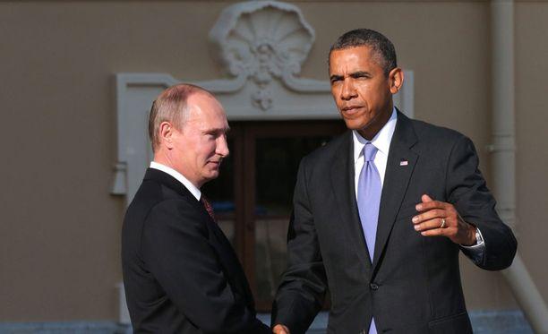USA:n ja Venäjän diplomaattisuhteet ovat kireät. Arkistokuva vuodelta 2013.