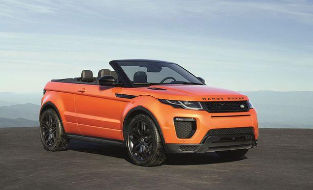 Uusi malli on Range Rover -perheen ensimmäinen avoauto.