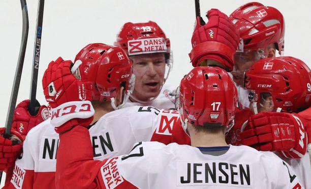 Tanska voitti alkusarjassa Tshekin.